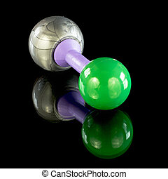 Sodium Chloride Chemical atom model