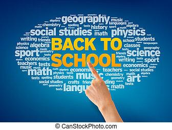 school, back
