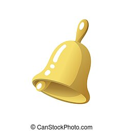 School bell icon, back to school concept. Vector illustration.