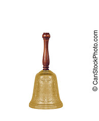 School bell isolated