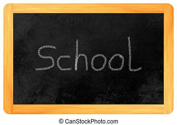 school, black , al, plank
