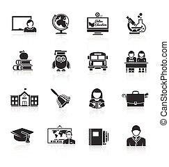 school, black , pictogram