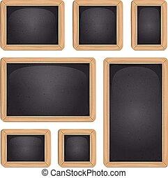 School Blackboard Set