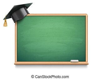 School Board and Graduation Cap