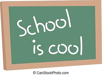 School board vector illustration.