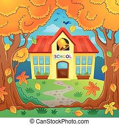 School building theme image 4