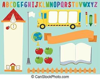 School Bulletin Board Design Elements
