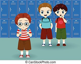 school bullying illustrations and clipart 601 school bullying rh canstockphoto com bullying clipart png bullying clipart images