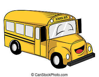 school bus rh canstockphoto com School Bus Illustration Blank School Bus Clip Art