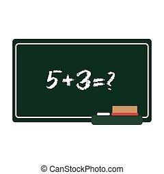 school chalkboard icon