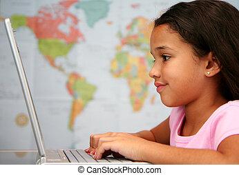 School - Child at school