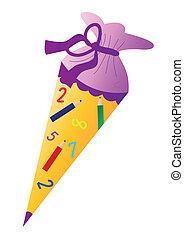 School cone