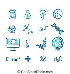 School doodles set