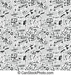 School education - doodles