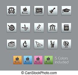 School & Education Icons / Satinbox