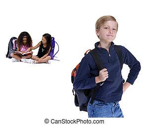 school geitjes