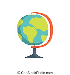 Geography lesson related elements cartoon globe geography lesson school geography globe cartoon vector illustration gumiabroncs Images