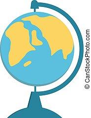 School Globe - model of Earth.