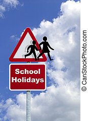 Concept image for School holidays