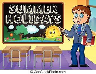School holidays theme