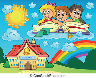 School kids theme image 8
