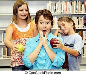 School Library - Popular Teacher
