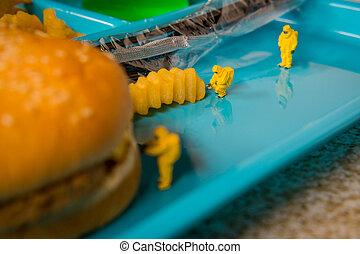 School Lunch Hazmat Health Inspection