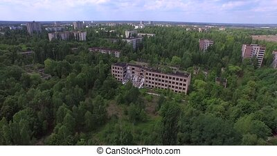 School No1 of Pripyat. Chernobyl