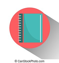 School notebook icon