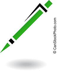 School objects pen