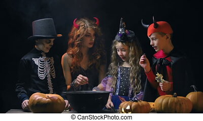 School of Wizards - Adult witch teaching next generation the...