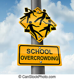 School Overcrowding - School overcrowding and classroom...