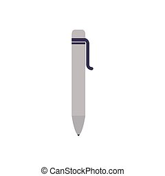school pen flat style icon