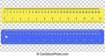 School Plastic Measuring Ruler