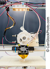 school, printer, werken, plastic, gedurende, laboratorium, ...