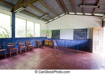 school room rural corn island nicaragua third world central america