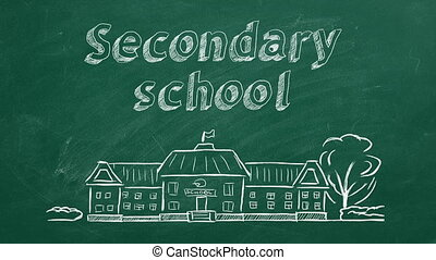 school, secundair