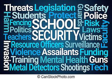 School Security Word Cloud