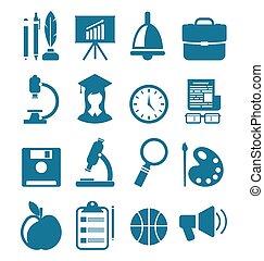 School Simple Icons