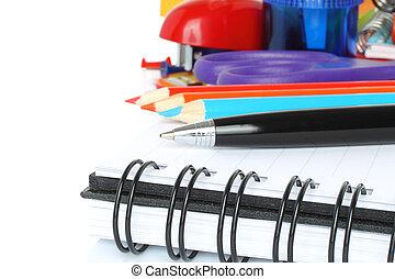 School stationery