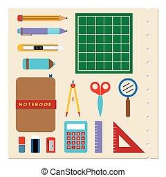 School Stationery Supplies.