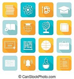 School Subject Icons
