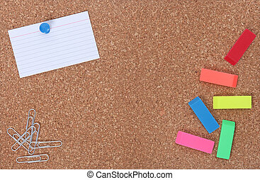 School Supplies and Copy Space for Your Text