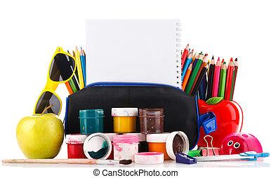 school supplies for art