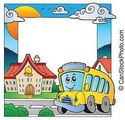 school, thema, frame, 5