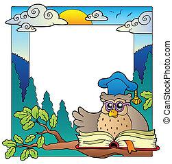 School theme frame 4
