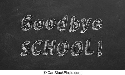 !, school, tot ziens