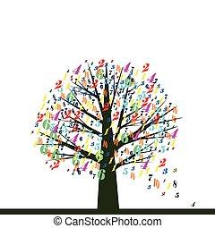 School tree.