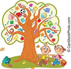 school tree