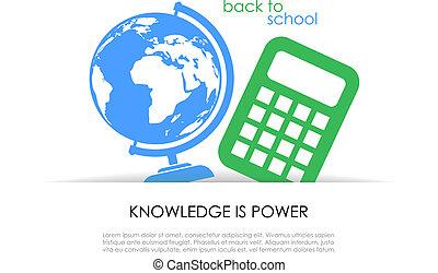 School vector symbol